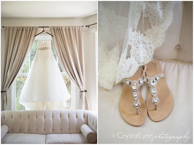 Inn at Park Winters Wedding | © Crystal Lynn Collins
